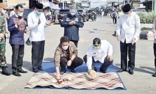 Gubernur Resmikan Infrasktuktur PALI, PJ Bupati Minta Dibantu Bangunkan Perkantoran