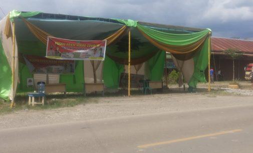Posko Covid Kecamatan dan Desa Diduga Tak Berpenghuni