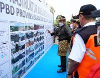 68 Kegiatan Infastruktur di Kabupaten Banyuasin Diresmikan