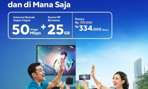 """XL Axiata Kenalkan """"XL SATU Fiber"""" Layanan Konvergensi Pertama di Indonesia"""