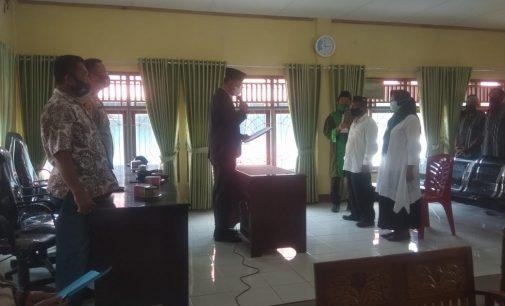 Camat Rambang Lantik Wakil Ketua BPD