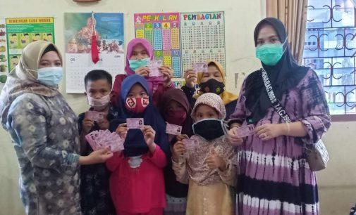 LKSA Palembang Bersama LPA Fasilitasi Pembuatan KIA