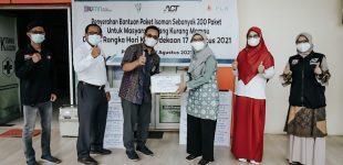 ACT – PLN S2JB, Bagikan Paket Pangan untuk Warga Isoman