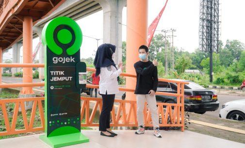 Gojek – LRT Terintegrasi, Permudah Mobilitas Warga Palembang
