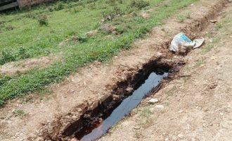 Warga Desa Jirak Jaya Resah, Penanganan Limbah Akibat Pipa Bocor Berjalan Lamban